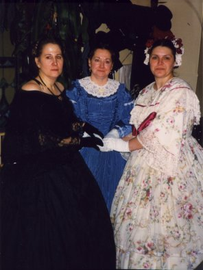 L to R - Tara Harl-Odom, Evelyn Swearingen, and Donna Daniels